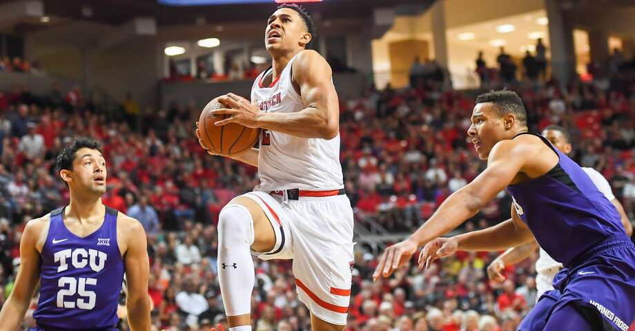 LUBBOCK, TX - MARCH 3: Zhaire Smith #2 of the Texas Tech Red Raiders goes to the basket during the first half of the game against the TCU Horned Frogs on March 3, 2018 at United Supermarket Arena in Lubbock, Texas. (Photo by John Weast/Getty Images) Photo: John Weast/Getty Images