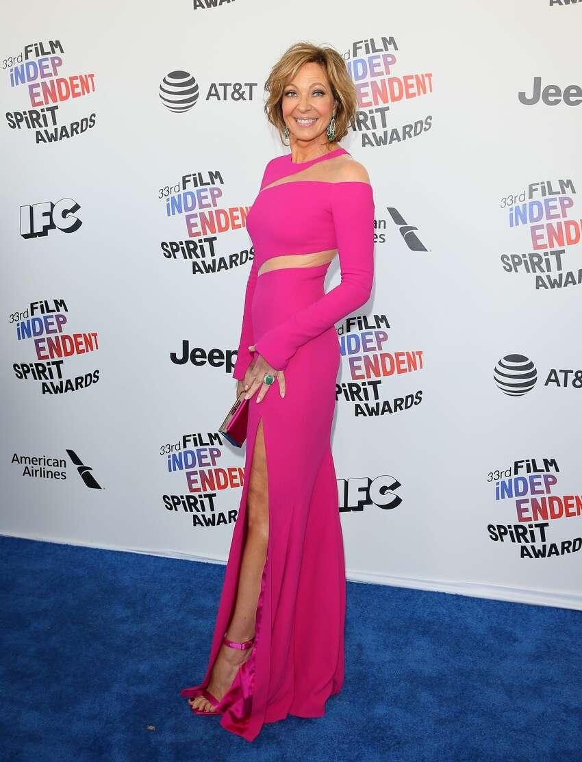 Actress Allison Janney arrives.