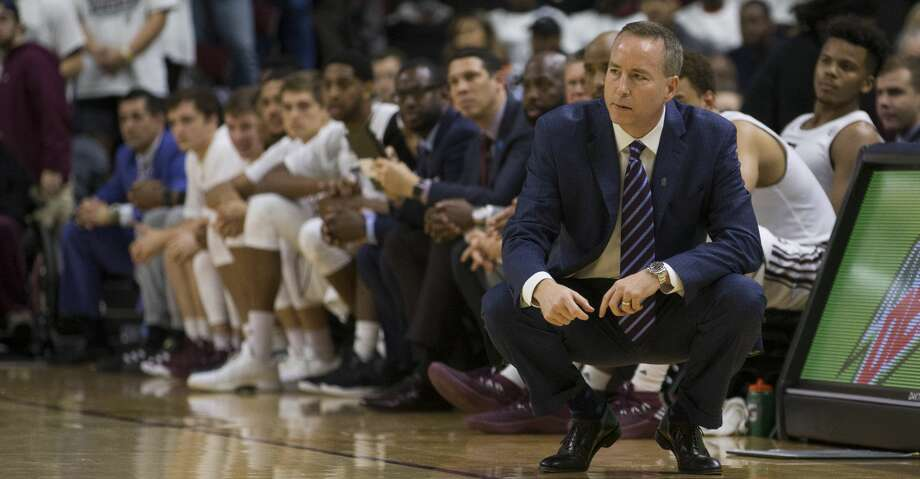 Texas A&M basketball coach Billy Kennedy is not expected back with the Aggies next season. Photo: Sam Craft/Associated Press