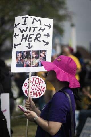 Houston march celebrates black women - Houston Chronicle
