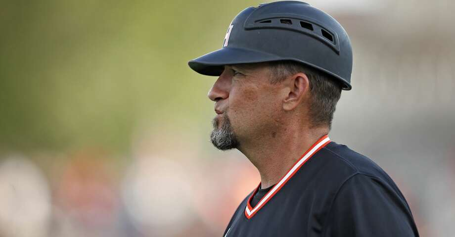 A blown first-inning call at first base isn't what cost Sam Houston State the game, but it did lead to the ejection of head coach Matt Deggs in its 4-1 defeat to Mississippi State on Sunday at Minute Maid Park. Photo: Brad Tollefson/Associated Press