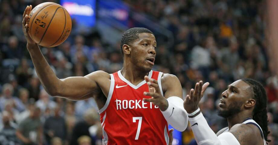 PHOTOS: Rockets game-by-gameJoe Johnson has gotten more playing time as a power forward, a position that he said has worked well for him to find mismatches.Browse through the photos to see how the Rockets have fared through each game this season. Photo: Rick Bowmer/Associated Press