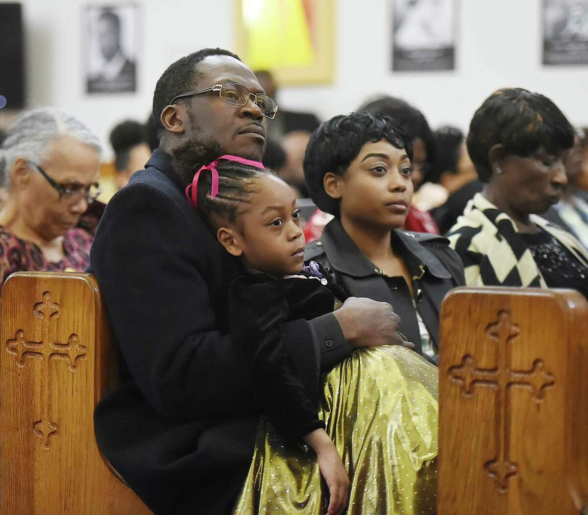 The Black History celebration, Satuday, March 3, 2018, at Mount Zion Seventh-day Adventist Church at 64 Marlboro St. in Hamden.