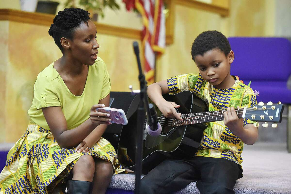 Images from the Black History celebration, Satuday, March 3, 2018, at Mount Zion Seventh-day Adventist Church at 64 Marlboro St. in Hamden.