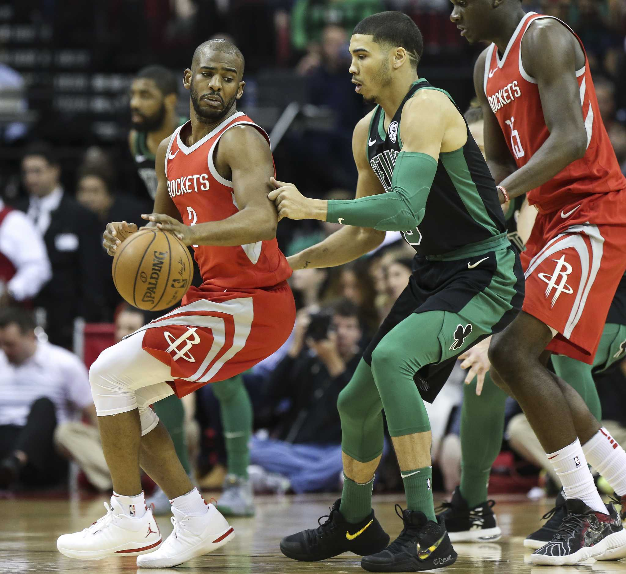 8e2c20f17a9d Rockets fend off Celtics to win 15th straight - HoustonChronicle.com
