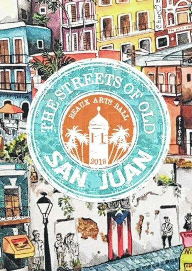 Patrons of the Art Association of Jacksonville's Beaux Arts Ball will experience the colors and spirit of Old San Juan. Photo: Photo Provided