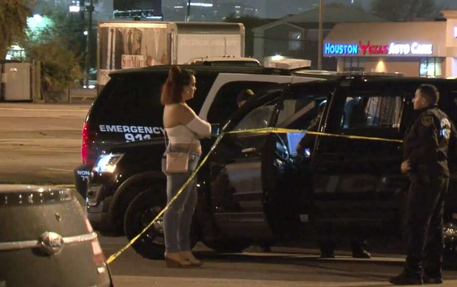 Two people were shot outside of a southwest Houston bar early Sunday morning, Houston Police said. The disturbance happened around 2:30 a.m. in the parking lot of Carrington's Billiards, police said. One man was shot three times, another was shot once.  Both were taken to the hospital and are in stable condition, police said. Photo: Metro Video LLC / For The Houston Chronicle