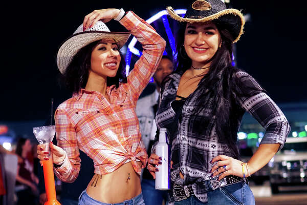 The first weekend of RodeoHouston 2018 drew large and stylish crowds to NRG Park.  (Photo by Marco Torres/Houston Chronicle)