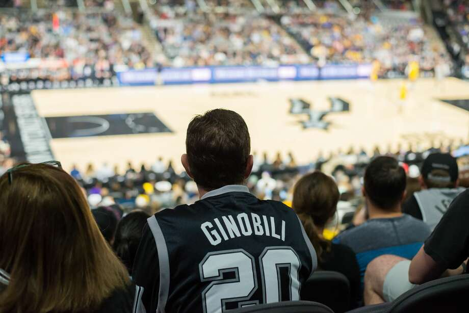Spurs faithful showed en masse Saturday March, 3, 2018, at the AT&T Center to watch their beleaguered team fall to the hated Los Angeles Lakers 116-112. Photo: Kody Melton