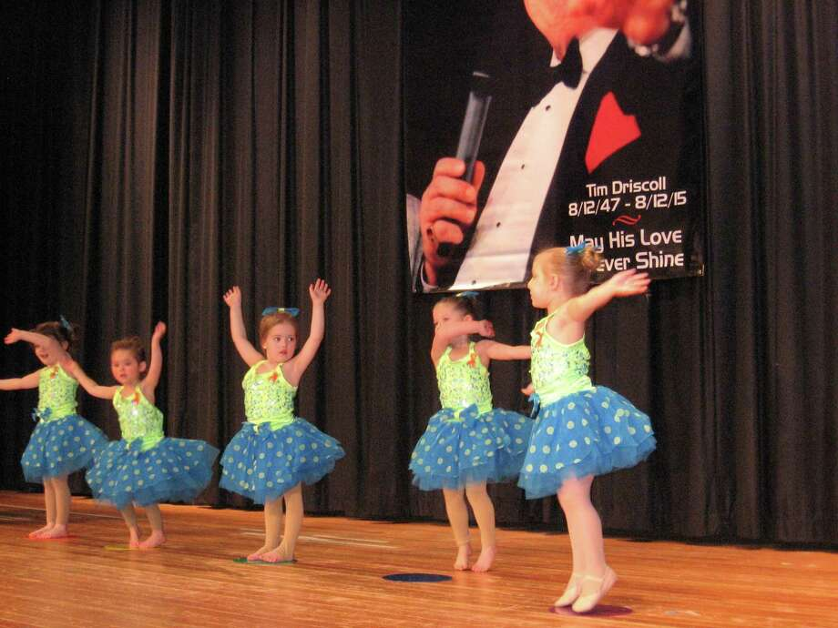 Little performers from DBA Dance in New Hartford on stage during the 39th annual Tim Driscoll St. Jude Children's Research Hospital telethon at Torrington High School Sunday. Photo: John Torsiello / Hearst Connecticut Media