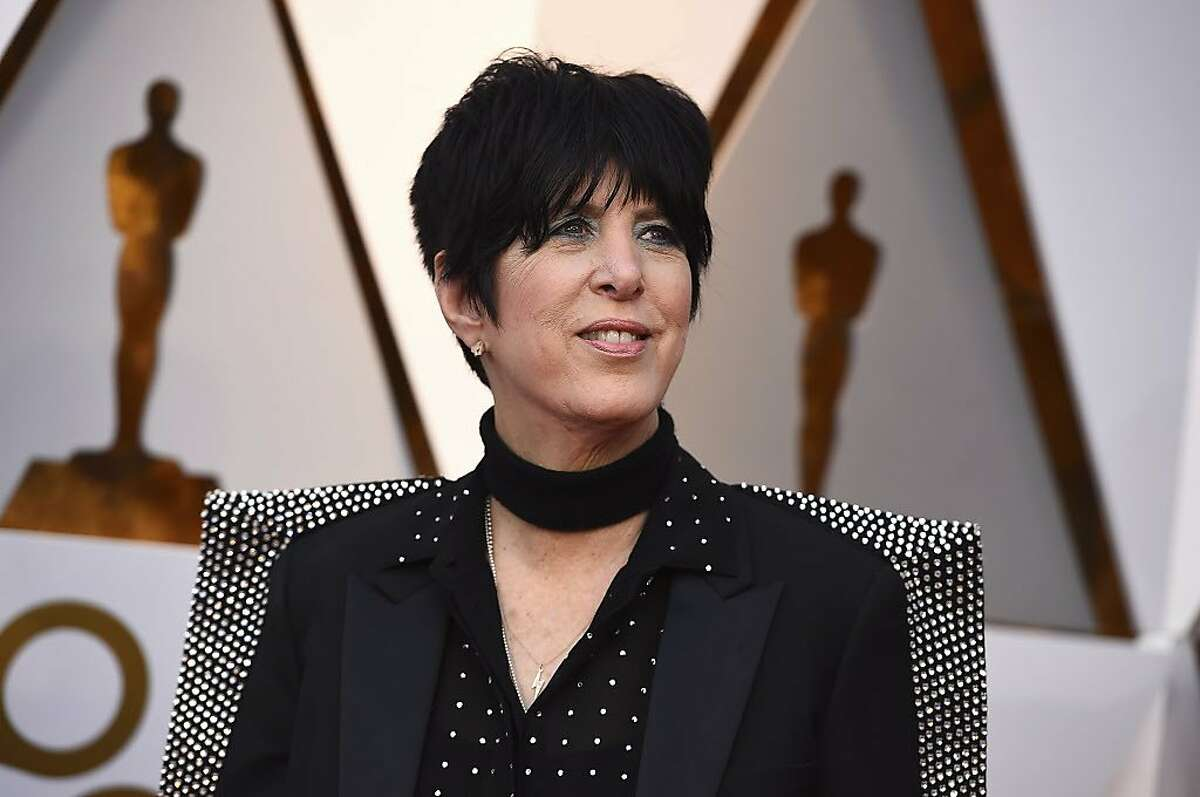 Diane Warren arrives at the Oscars on Sunday, March 4, 2018, at the Dolby Theatre in Los Angeles.