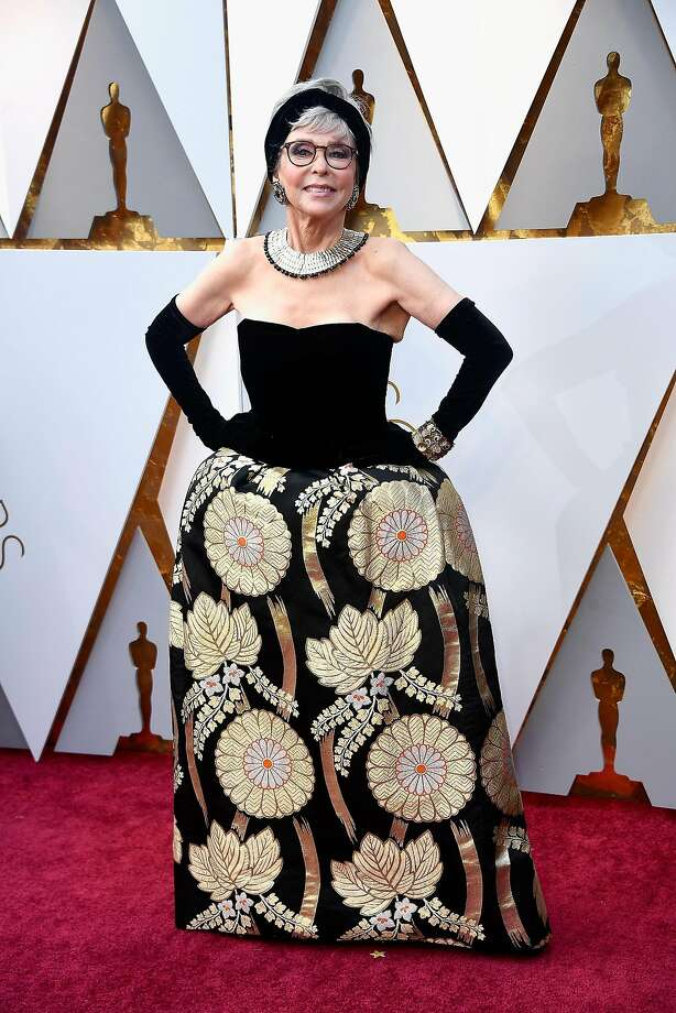 Rita Moreno attends the 90th Annual Academy Awards at Hollywood & Highland Center on March 4, 2018, in Hollywood. Photo: Frazer Harrison, Getty Images