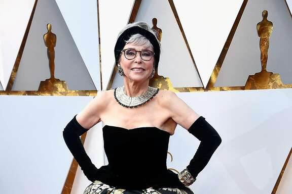 HOLLYWOOD, CA - MARCH 04:  Rita Moreno attends the 90th Annual Academy Awards at Hollywood & Highland Center on March 4, 2018 in Hollywood, California.  (Photo by Frazer Harrison/Getty Images)