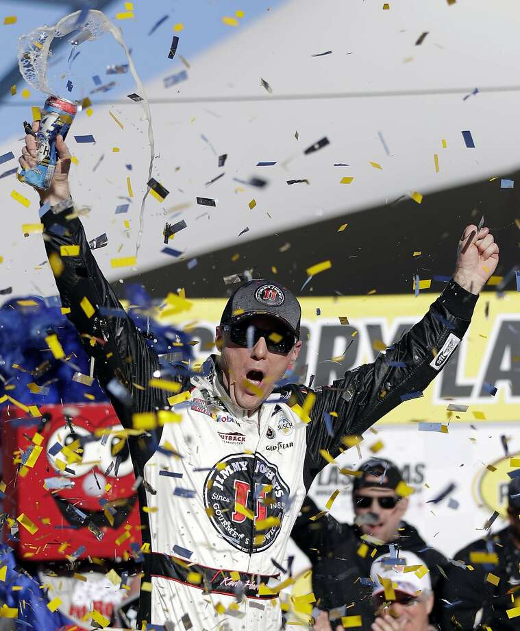 Kevin Harvick has won the last two NASCAR Cup races. Photo: Isaac Brekken, Associated Press
