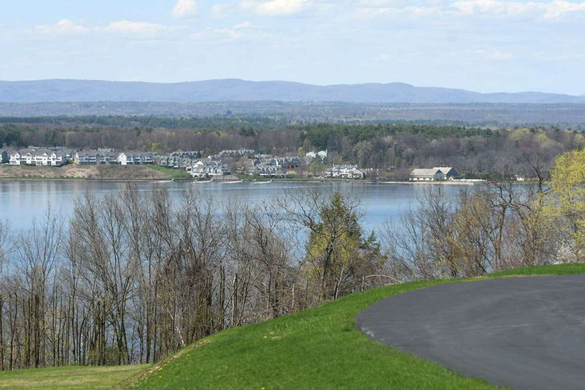 View of Saratoga Lake from a home on Hill Road on Monday, April 24, 2017, in Stillwater, N.Y. Neighbors are upset with developer John Witt?'s plans to clear cut trees from land at the end of Hill Road. They believe that it would create an ecological disaster for the lake and water table. (Will Waldron/Times Union)