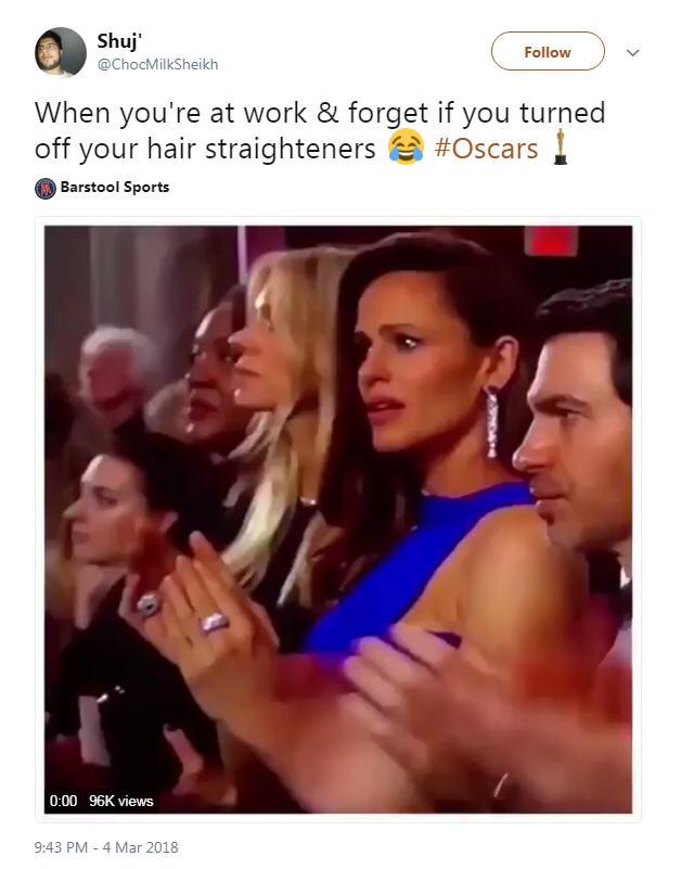 Texas-native Jennifer Garner turns into latest celebrity meme as she's filmed with shocked look