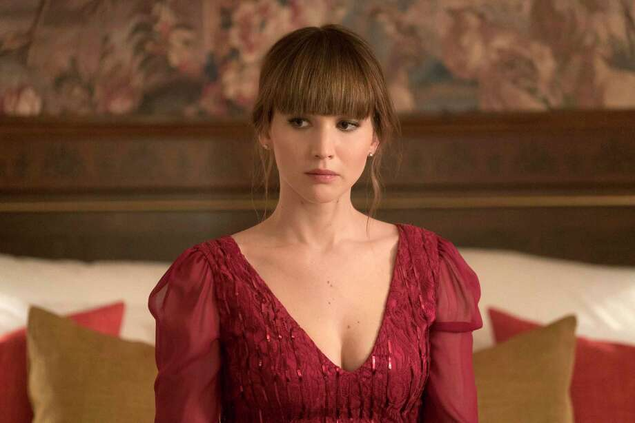 "In this image released by Twentieth Century Fox, Jennifer Lawrence appears in a scene from ""Red Sparrow."" (Murray Close/Twentieth Century Fox via AP) Photo: Murray Close / TM & © 2018 Twentieth Century Fox Film Corporation.  All Rights"