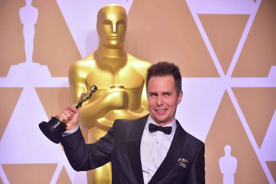 Sam Rockwell poses in the press room with the Oscar for xxx during the 90th Annual Academy Awards on March 4, 2018, in Hollywood, California.  / AFP PHOTO / FREDERIC J. BROWNFREDERIC J. BROWN/AFP/Getty Images Photo: FREDERIC J. BROWN / AFP/Getty Images / AFP or licensors