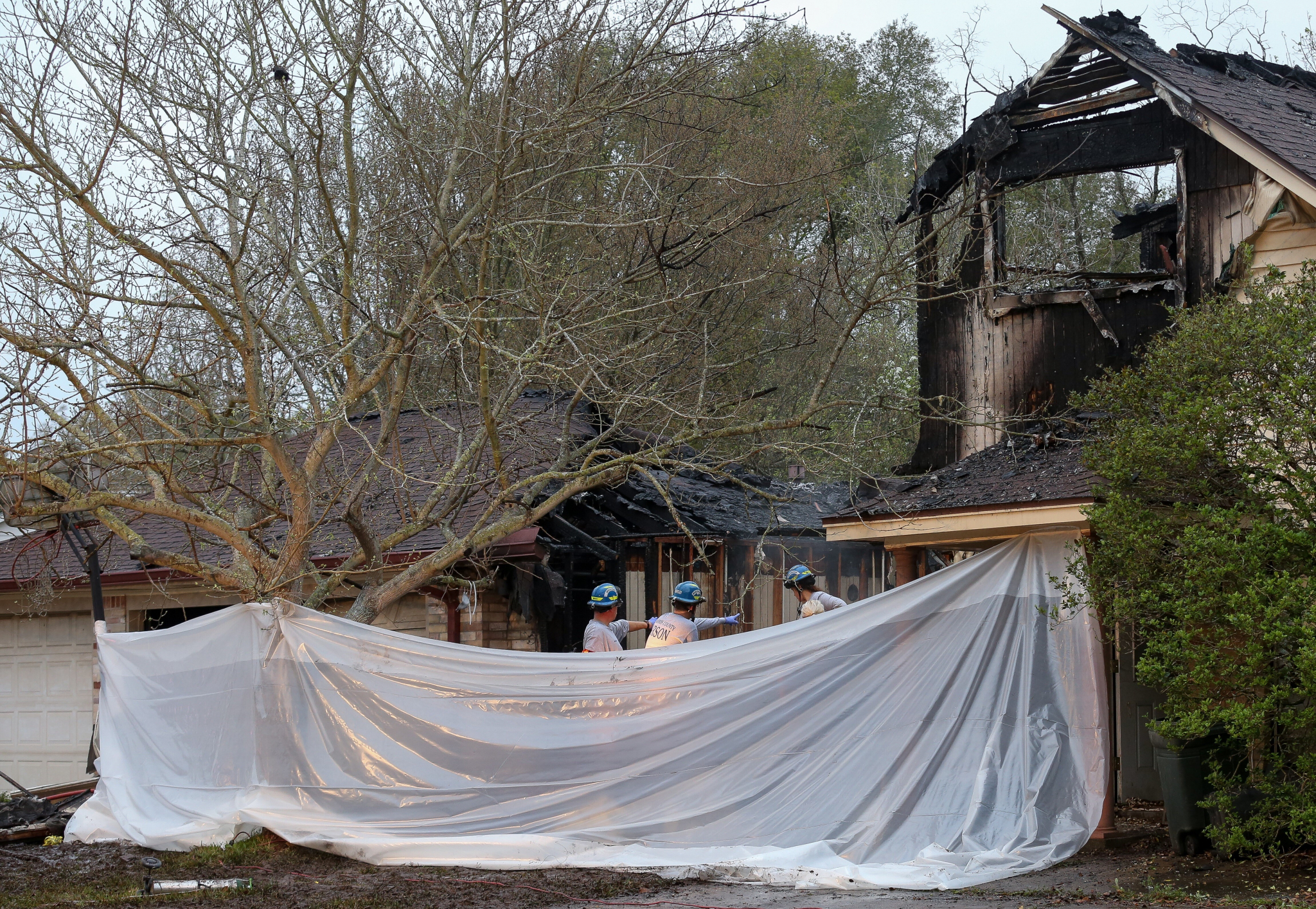Mother and son die in Cypress area house fire - Houston Chronicle