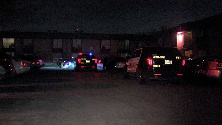 A 16-year-old boy was shot in the leg after an ongoing dispute with a 17-year-old boy over a girl, according to San Antonio police. Photo: Ken Branca