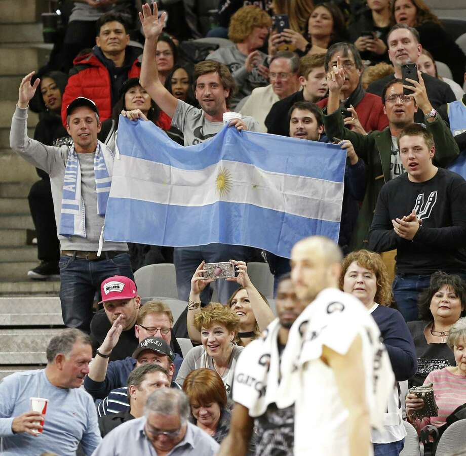 Manu Ginobili has devoted fans in every NBA city, not just San Antonio. Photo: Edward A. Ornelas / San Antonio Express-News / © 2018 San Antonio Express-News