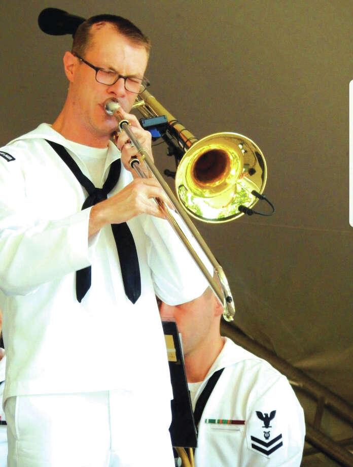 U.S. Navy Petty Officer 1st Class Zach Ellerbrook. Photo: For The Intelligencer
