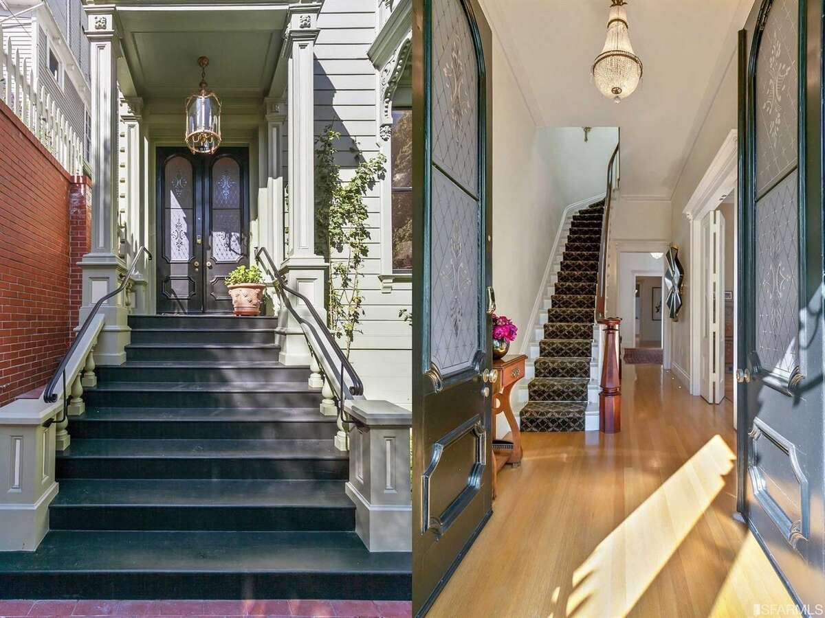 930 Chestnut is a preserved Victorian set deep on its lot behind Thomas Church designed gardens. Yours now for $6.850M