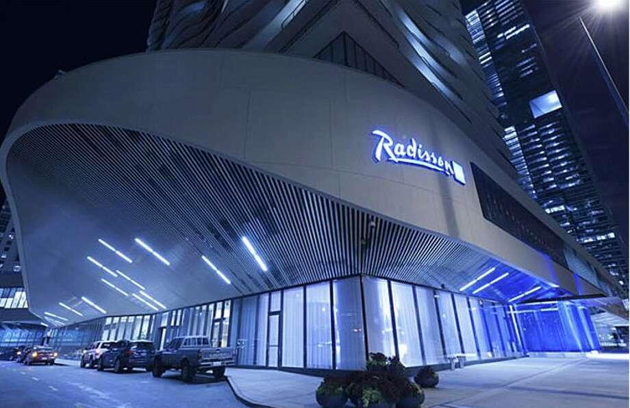 The Radisson Blu Aqua hotel in Chicago. Photo: Radisson