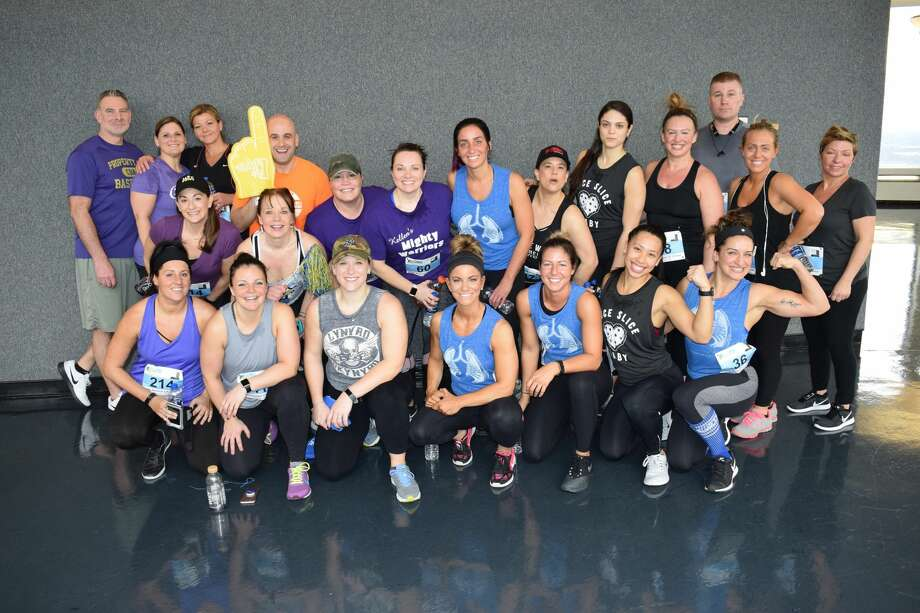 Were you Seen at the 30th Annual CF Climb, a fundraiser for the Cystic Fibrosis Foundation, at Albany's Corning Tower on Feb. 24, 2018?  Photo: Michael Schinnerer