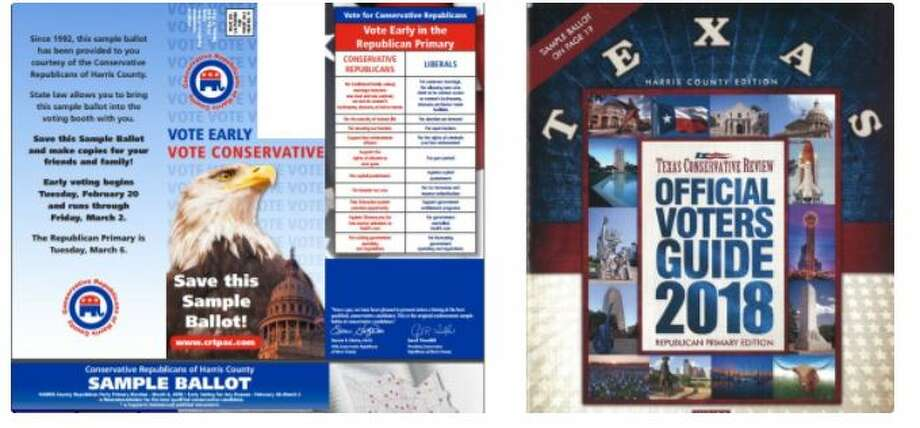 The Harris County Republican Party is warning its voters about mailers making endorsements in races. The state and local party do not endorse in GOP primaries.
