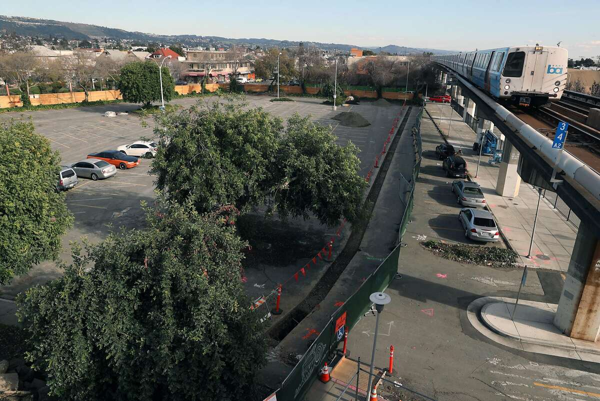 Site of the latest phase of Fruitvale Village in Oakland, Calif., on Tuesday, February 20, 2018.