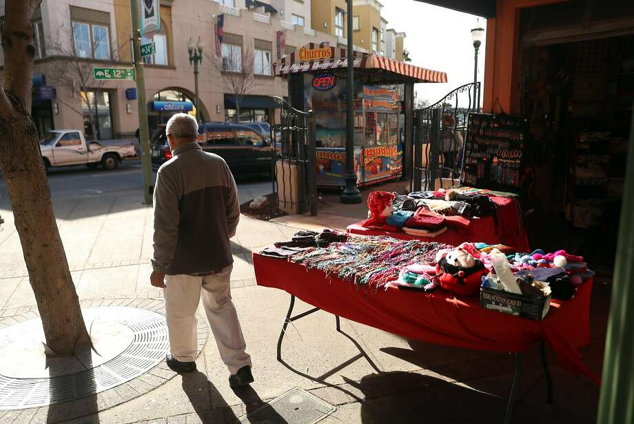 Small businesses keep Oakland's Fruitvale Village lively. Photo: Scott Strazzante, The Chronicle