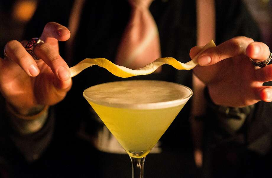 The lemon drop at Martuni's in S.F. Photo: Jessica Christian, The Chronicle
