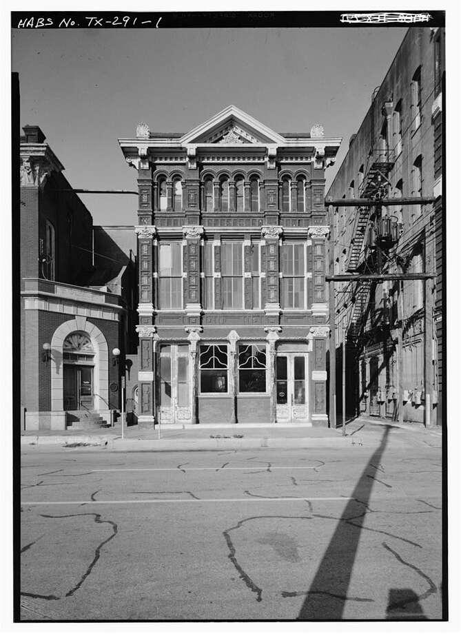 ThenTruehart-Adriance building, 212 22nd StreetHistory: Housed the H.M Truehart Company, one of the oldest real estate firms in Texas in the 19th century. Photo: HIstoric American Buildings Survey/Library Of Congress
