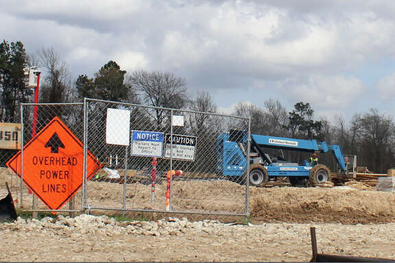 Construction proceeds on a new development on U.S. Highway 59 north of Will Clayton Parkway. The city of Humble's new ordinance passed during the February city council meeting outlines exterior construction standards for all new buildings.  Construction proceeds on a new development on U.S. Highway 59 north of Will Clayton Parkway. The city of Humble's new ordinance passed during the February city council meeting outlines exterior construction standards for all new buildings.