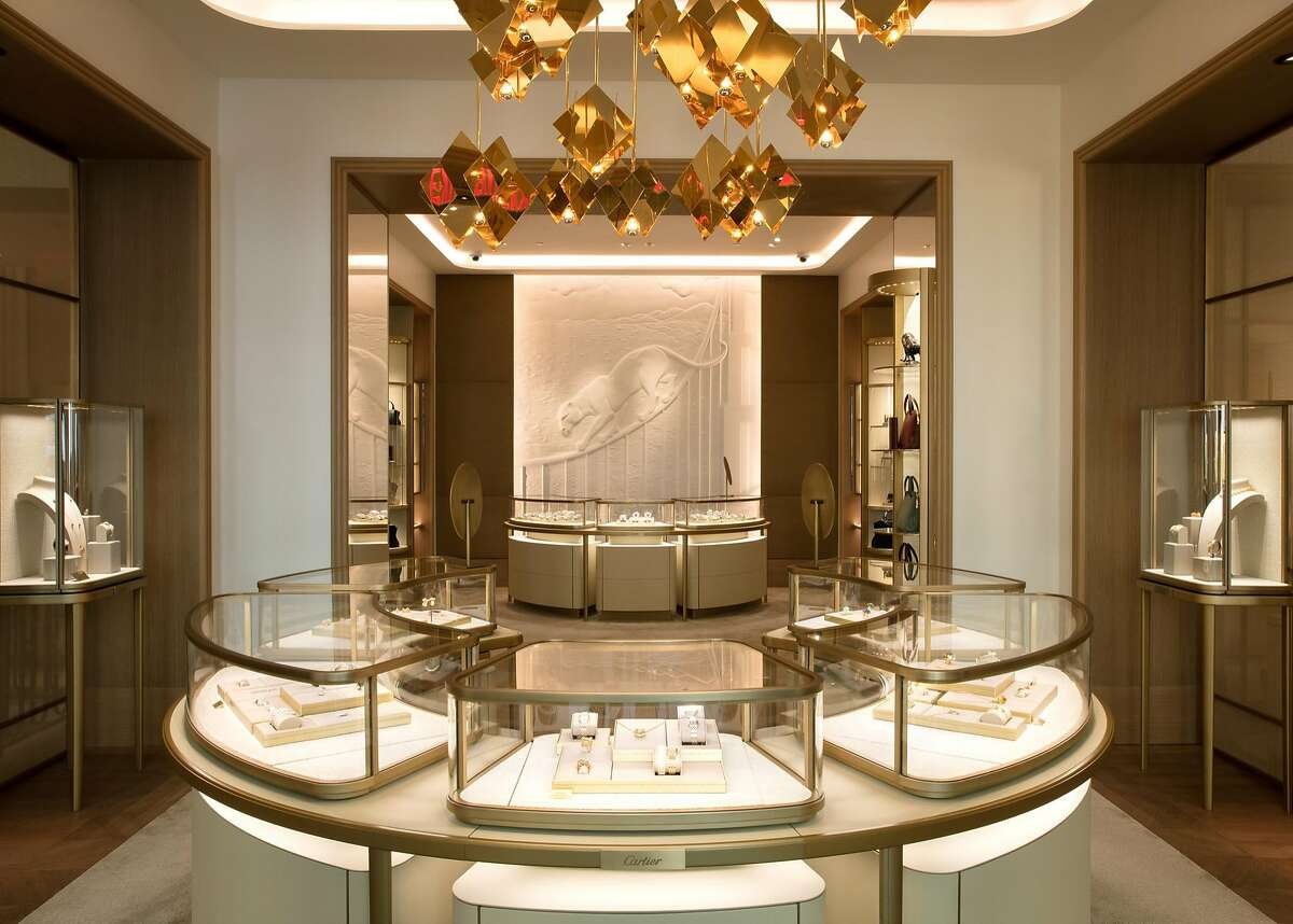 Cartier�has a new�corner location at� 199 Grant Avenue and Post streets designed by architect Bruno Moinard and executed by Callison RTKL Architects. The 6,809-square-foot boutique features a new design concept and houses a women's jewelry and watch salon, a men's watch salon, and a High Jewelry Salon.