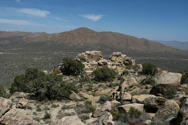 Teutonia Peak in Mojave National Preserve