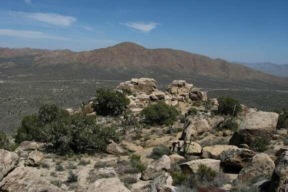 Teutonia Peak in Mojave National Preserve