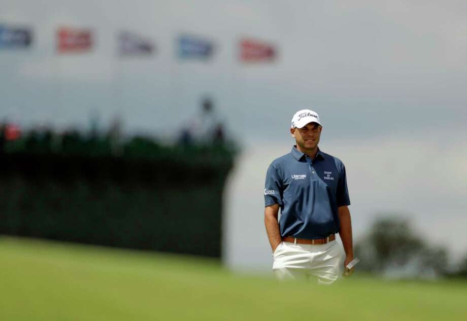 FILE - In this June 18, 2017, file photo, Bill Haas looks over the first hole during the fourth round of the U.S. Open golf tournament, at Erin Hills in Erin, Wis. Haas returns to golf this week knowing the Valspar Championship will be unlike any of the previous 347 times he has played on the PGA Tour. He is playing for the first time since he was the passenger in a car accident that killed the driver in Los Angeles. (AP Photo/Chris Carlson, File) Photo: Chris Carlson / Copyright 2017 The Associated Press. All rights reserved.