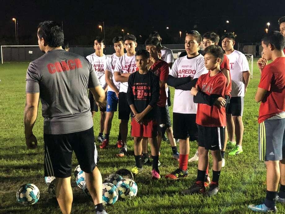 Laredo Heat anunció un programa gratuito para entrenar jóvenes jugadores de futbol soccer. Photo: Foto De Cortesía
