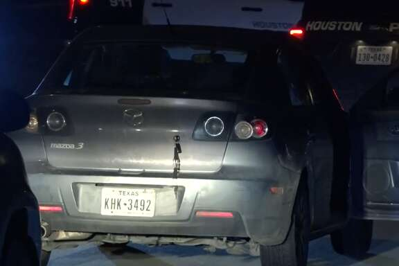 Four juveniles are in custody after they allegedly led police on a car chase in north Houston, late Monday March 5, 2018.