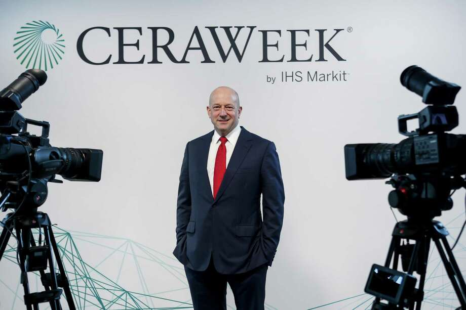 Lance Uggla, chairman and CEO of IHS Markit, host of CERAWeek, poses for a portrait on Monday, March 5, 2018, in Houston. ( Brett Coomer / Houston Chronicle ) Photo: Brett Coomer, Staff / Houston Chronicle / © 2018 Houston Chronicle