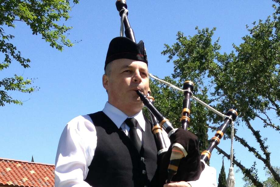 "Richard Kean, a member of St. Thomas Alumni Pipe Band, will entertain and share the ""History and Tradition of Bag Pipes"" at this month's meeting of the Harris Chapter of the Texas German Society. Photo: Richard Kean"
