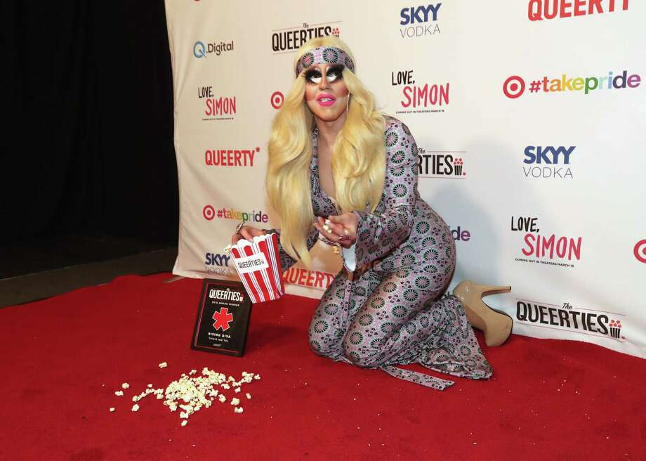 """LOS ANGELES, CA - FEBRUARY 27:  Trixie Mattel attends the Queerty presents """"The Queerties"""" Award Reception on February 27, 2018 in Los Angeles, California. Photo: Christopher Polk, Getty Images For Queerty / 2018 Getty Images"""