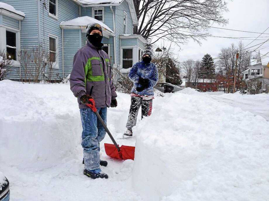Cassandra Day - The Middletown Press With Connecticut expected to get hit with another snowstorm Tuesday, March 6, 2018 into Wednesday, March 7, 2018 the American Red Cross cautioned state residents to prepare accordingly. Photo: / Journal Register Co.