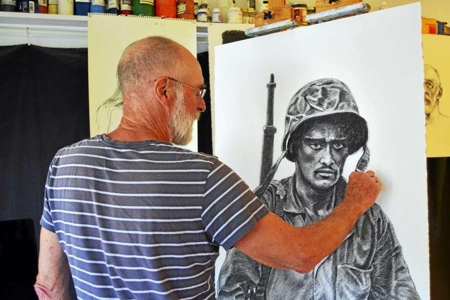 Middletown artist David Schulz Photo: File Photo