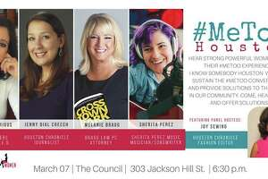 I Know Somebody Houston hosts #MeToo Houston, a conversation of empowerment with a panel of distinguished Houston women, on Wed. Tickets are $25.