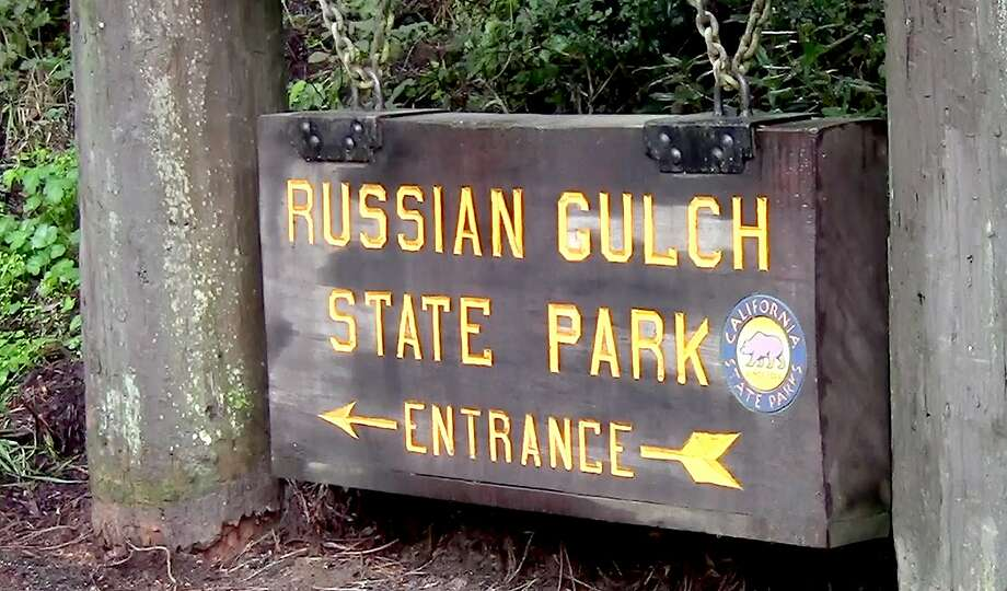 Russian Gulch State Park, filled with flora and redwoods, is one of a series of parks and reserves on the Mendocino Coast, just north of Mendocino. Photo: Tom Stienstra, Tom Stienstra / The Chronicle