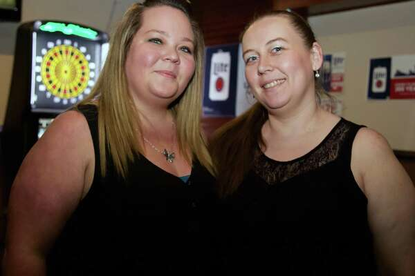 Bartender Connie Connelly and Jamie Hopkin are at Krystal's Cocktails.