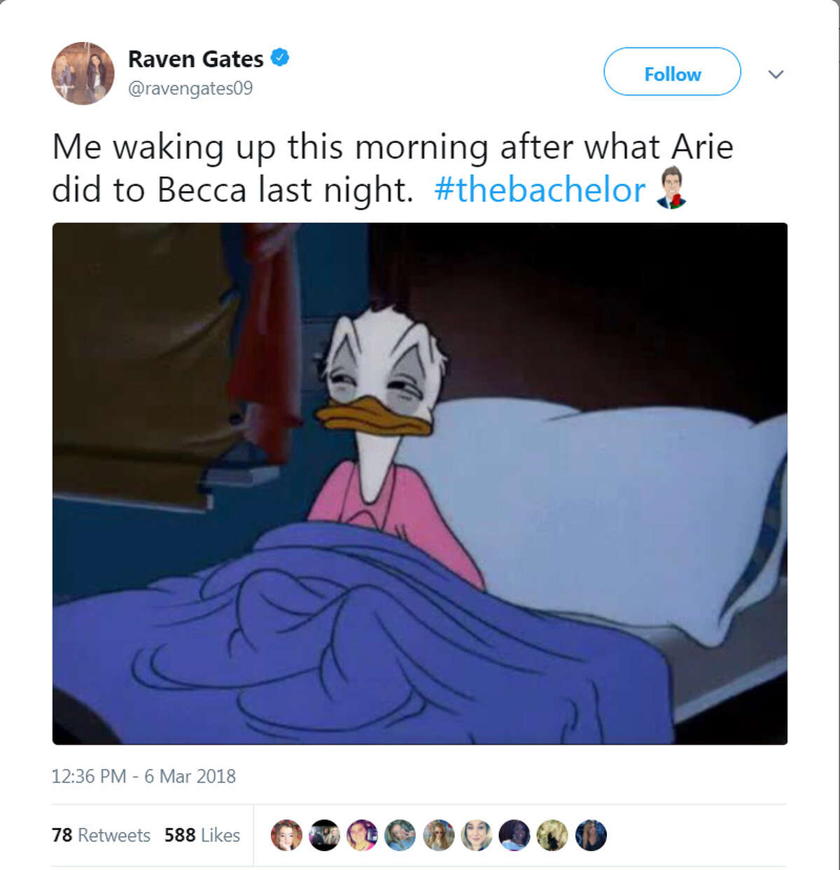 The best social media reactions to The Bachelor finale on Monday, March 5, 2018.